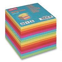 Poznámkový bloček Staples Clear Cube volné listy