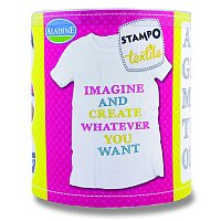 Razítka Stampo Textile - Abeceda Marina