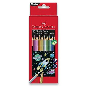 Obrázek produktu Pastelky Faber-Castell - 10 barev, metalické