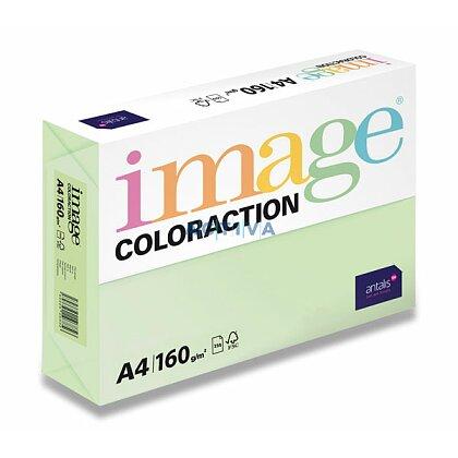 Obrázok produktu Image Coloraction - farebný papier - pastelovo svetlo zelená, A4, 80 g, 100 l., Jungle