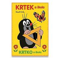 Omalovánky Krtek a škola