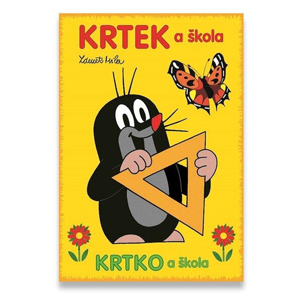 Omalovánky Krtek a škola formát A5