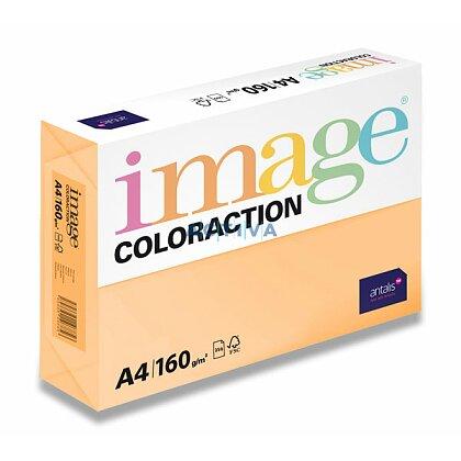 Obrázok produktu Image Coloraction - farebný papier - marhuľová, A4, 160 g, 250 l., Savana