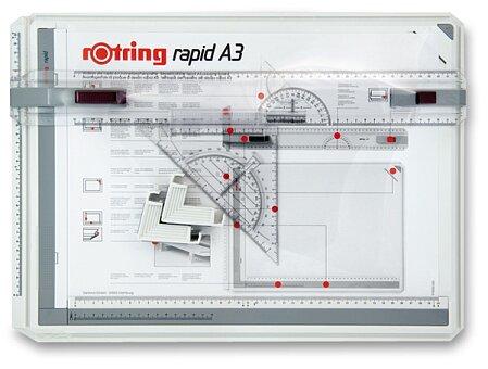 Obrázek produktu Rýsovací deska Rotring Rapid A3 a kufřík College