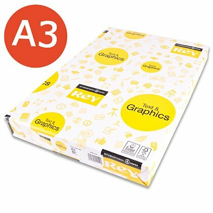 Obrázok produktu Rey Text & Graphics - xerografický papier - A3, 80 g, 500 listov