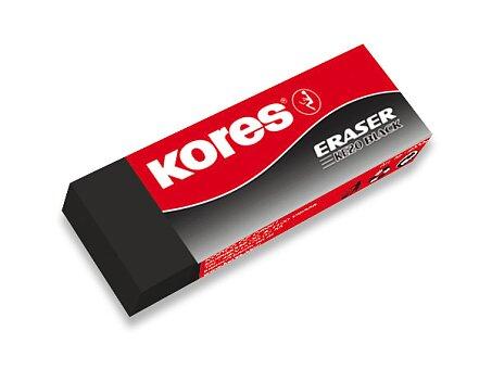 Obrázek produktu Pryž Kores Eraser Black 20 - na tužku
