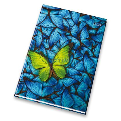 Obrázok produktu Papierne Brno - záznamová kniha - A4, 200 l., linajková