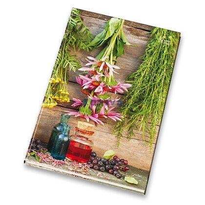 Obrázok produktu Papierne Brno - záznamová kniha - A5, 200 l., linajková