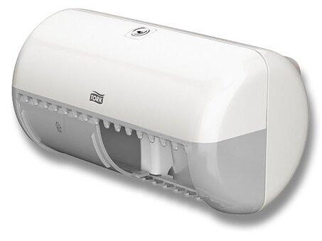 Obrázek produktu Zásobník na toaletní papír pro 2 role Tork Elevation T4 - bílý