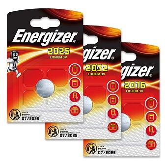 Obrázek produktu Lithiové baterie Energizer Lithium 3V - výběr druhů