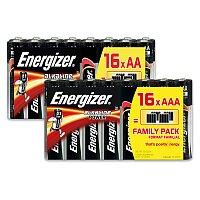 Alkalické baterie Energizer Power Family Pack