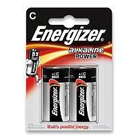 Alkalická baterie Energizer Power typ C