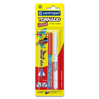 Obrázek produktu Roller Centropen 2675 Tornado Boom + zmizík - mix barev