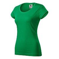 Tričko dámské Viper, velikost 2XL, středně zelená