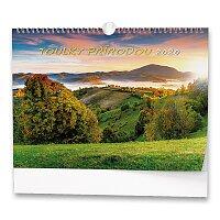 Nástěnný obrázkový kalendář Toulky přírodou 2020