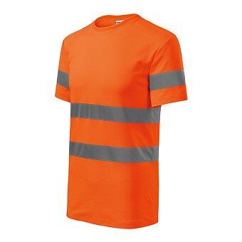Obrázek produktu Tričko unisex HV Protect, velikost 3XL, fluorescenční oranžová