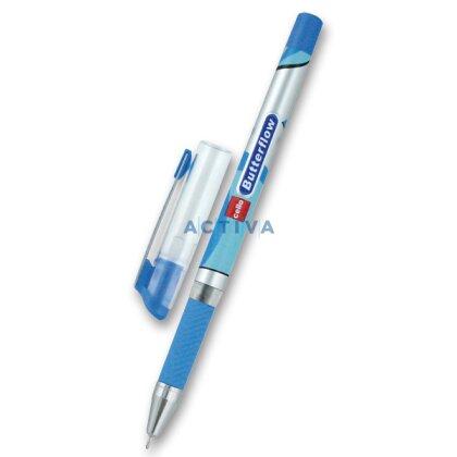 Obrázek produktu Cello Butterflow - jednorázová kuličková tužka - modrá
