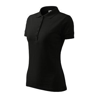 Obrázek produktu Polokošile dámská Pique Polo, velikost 3XL - výběr barev - červená