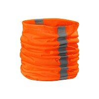 Šátek unisex HV Twister, fluorescenční oranžová
