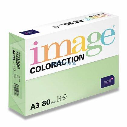 Obrázok produktu Image Coloraction - farebný papier - sýta zelená, A3, 80 g, 500l., Dublin