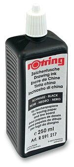 Obrázek produktu Tuš pro technická pera Rotring - černá, 250 ml