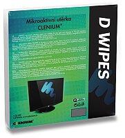 Mikroaktivní utěrka na monitory Clenium D-Wipes