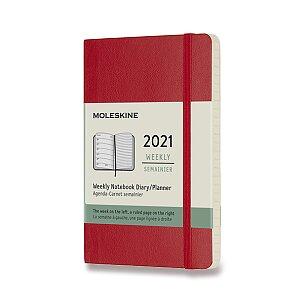 Diář Moleskine 2021 - měkké desky
