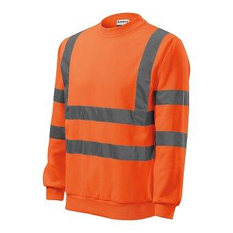 Obrázek produktu Mikina unisex HV Essential, velikost 3XL, fluorescenční oranžová