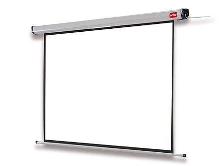 Obrázek produktu Nástěnné elektrické projekční plátno Nobo 4:3 - 160 x 120 cm, úhlopříčka 200 cm