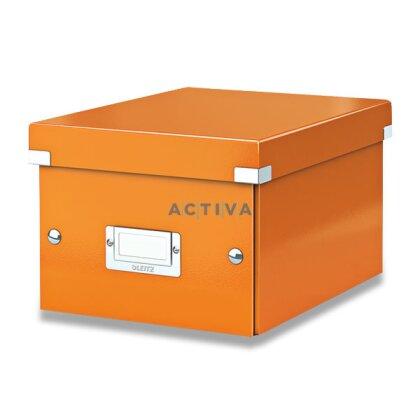 Obrázek produktu Leitz - krabice A5 - oranžová