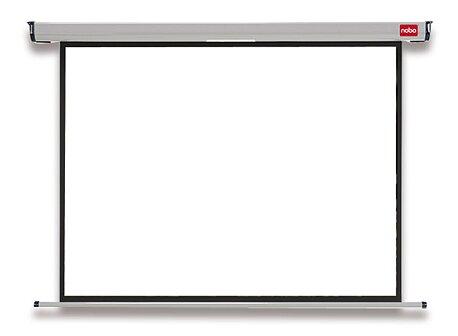 Obrázek produktu Nástěnné projekční plátno Nobo 4:3 - 150 x 113,8 cm, úhlopříčka 181,3 cm