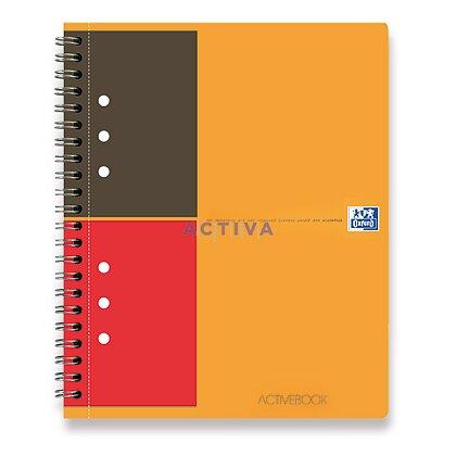 Obrázok produktu Oxford Active Book - krúžková záznamová kniha - A5, 80 l., linajková