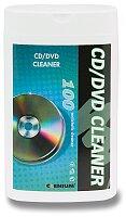 Utěrky na čištění CD/DVD disků Clenium