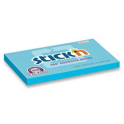 Obrázek produktu Hopax Stick'n Notes 360° - samolepicí bloček - 76 × 127 mm, 100 l., modrý