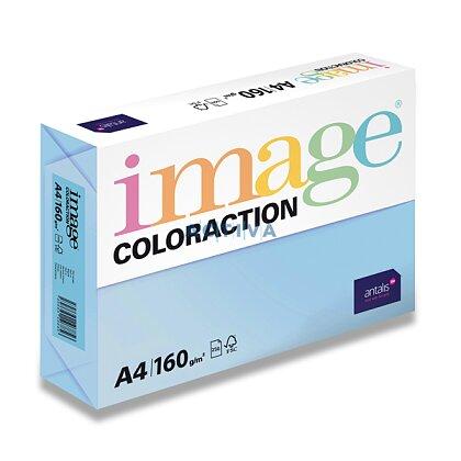 Obrázok produktu Image Coloraction - farebný papier - ľadovo modrá, A4, 160 g, 250 l., Iceberg