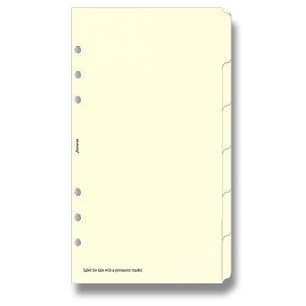 Obrázek produktu Krajové výřezy, krémové, čisté - náplň osobních diářů Filofax