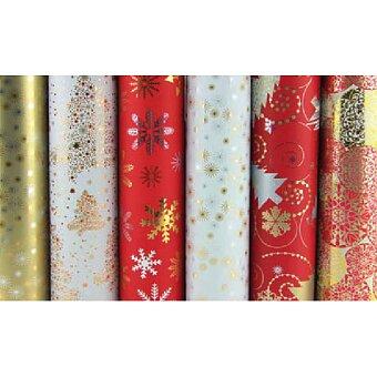 Obrázek produktu Dárkový balicí papír Clairefontaine Premium - vánoční, 2 x 0,7 m, mix motivů