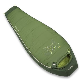 Obrázek produktu Spacák Boll Stellar Eucalyptus/Forestgreen - levý zip, pro praváky