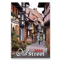 Nástěnný obrázkový kalendář Old Street 2020