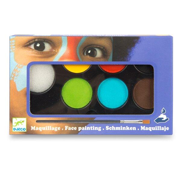 Barvy na obličej Djeco 6 barev
