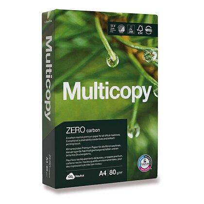 Obrázek produktu MultiCopy Zero Carbon - xerografický papír - A4, 80 g, 5 × 500 listů