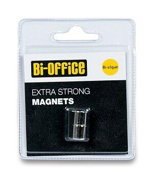 Obrázek produktu Extra silné magnety Bi-Silque - průměr 10 mm, 2 ks, kovové