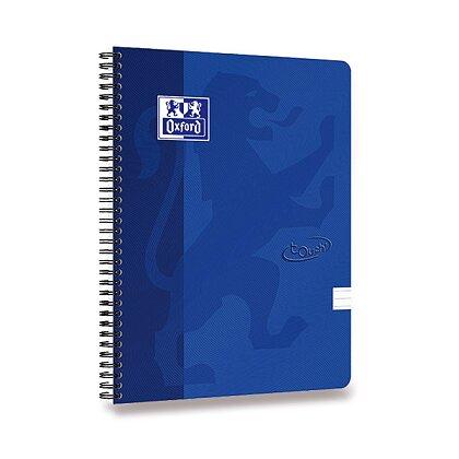Obrázok produktu Oxford Nordic Touch - krúžkový blok - A4, linajkový, modrý