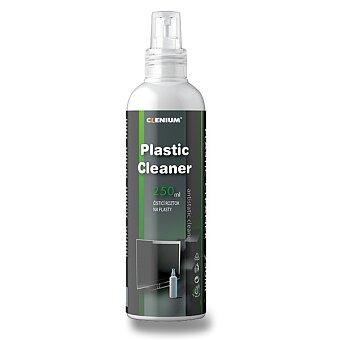 Obrázek produktu Antistatický čistič na plasty Clenium Plastic Cleaner - 250 ml, dezinfekční
