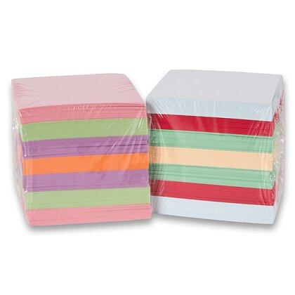 Obrázek produktu Color Paper - náhradní náplň barevná - 9×9×9 cm, nelepená