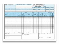 Záznam o době řízení a bezpeč. přestávkách Optys 1174