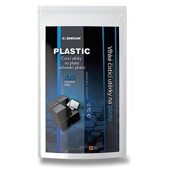 Obrázek produktu Vlhké čisticí utěrky na plasty Clenium Surface Cleaner - 100 ks