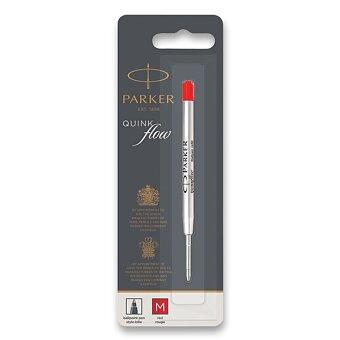 Obrázek produktu Náplň Parker QuinkFlow do kuličkové tužky - červená - výběr šíře stopy