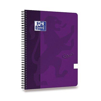 Obrázek produktu Oxford Nordic Touch - kroužkový blok - A4, čistý, fialový