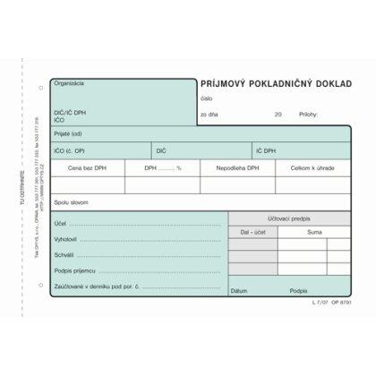 Obrázok produktu Pokladničný doklad - NCR, 100 listov, formát A6